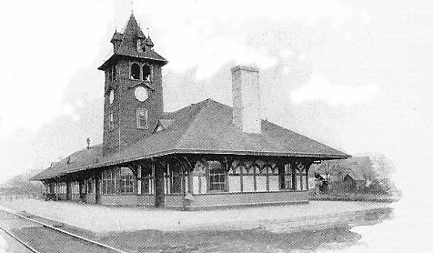 Northern Pacific Railroad Depot - Yakima, North Yakima, WA